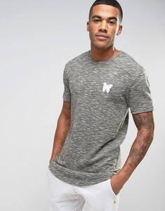 Меланжевая футболка Good For Nothing - Серый