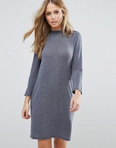 Платье-джемпер с круглым вырезом Vila - Черный