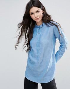 Джинсовая рубашка Vila - Синий
