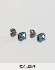 Серьги-гвоздики с кристаллами Swarovski от Simon Carter эксклюзивно для ASOS - Серебряный