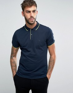 Футболка-поло Calvin Klein - Темно-синий