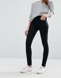 Супероблегающие джинсы с классической талией Lee Jodee - Черный