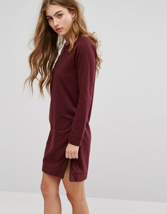 Платье-футболка с молниями по бокам Lee - Фиолетовый