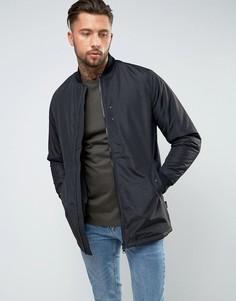 Длинная куртка-пилот D-Struct - Черный