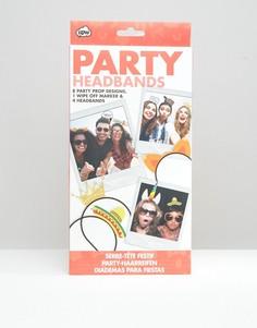 Аксессуары для волос для вечеринки NPW - Мульти
