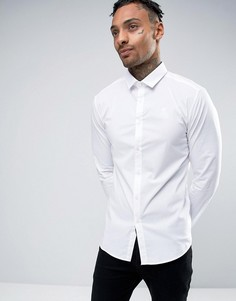 Суперузкая рубашка SikSilk - Белый