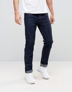 Умеренно выбеленные джинсы классического кроя Threadbare - Синий
