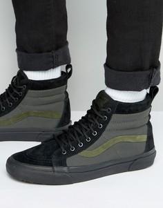 Черные кроссовки Vans Sk8-Hi MTE VA33TXLQP - Черный
