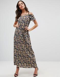 Платье макси с мелким цветочным принтом Liquorish - Мульти
