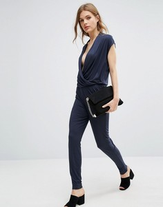 Комбинезон Selected Femme Silla - Темно-синий
