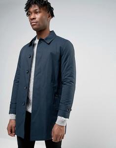 Темно-синий тренч Burton Menswear - Темно-синий
