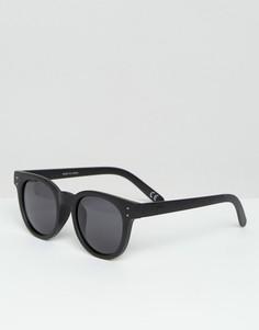 Черные солнцезащитные очки Vans Welborn V5YOBLK - Черный