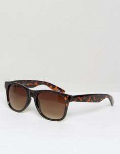 Солнцезащитные очки в черепаховой оправе Vans Spicoli 4 VLC01RE - Коричневый