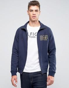 Спортивная куртка с логотипом Tommy Hilfiger - Темно-синий