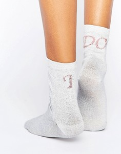 Носки с надписью ASOS - Белый