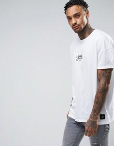 Свободная футболка Sixth June - Белый