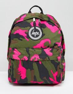 Рюкзак с камуфляжным принтом Hype Vida - Мульти