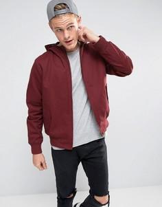 Куртка из хлопковой саржи с капюшоном Tokyo Landry - Красный