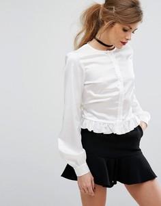 dbd68265d8d715e Рубашки с завязками женские - купить в интернет-магазинах - LOOKBUCK