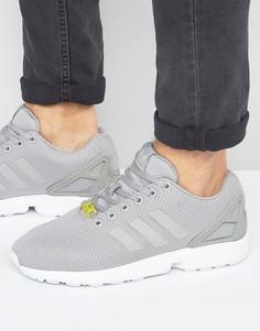 Серые кроссовки adidas Originals ZX Flux M19838 - Серый