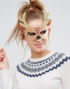 Новогодняя маска оленя Johnny Loves Rosie - Мульти
