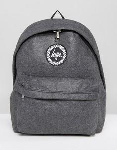 Темно-серый шерстяной рюкзак Hype - Серый