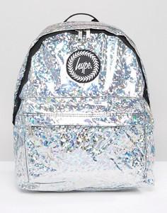 Рюкзак с голографической отделкой Hype - Серебряный