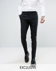 Черные супероблегающие брюки Only & Sons - Черный