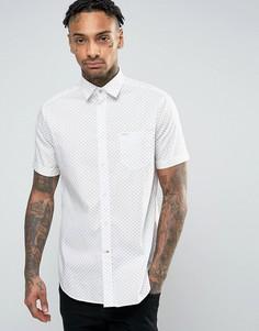 Рубашка с короткими рукавами и принтом Diesel S-DUSK - Белый