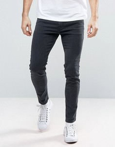 Темно-серые джинсы скинни Diesel Stickker 0677H - Серый
