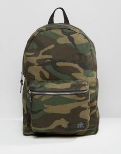 Рюкзак цвета хаки с камуфляжным принтом New Look - Зеленый