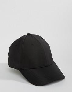 Черная бейсболка New Look - Черный