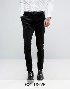 Вельветовые супероблегающие брюки Only & Sons - Черный