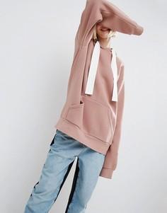 Oversize-худи ASOS WHITE - Розовый