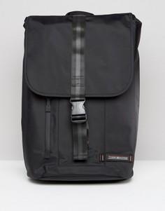 Черный рюкзак с застежкой-зажимом Tommy Hilfiger - Черный