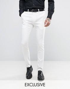 Супероблегающие брюки под смокинг Only & Sons - Белый
