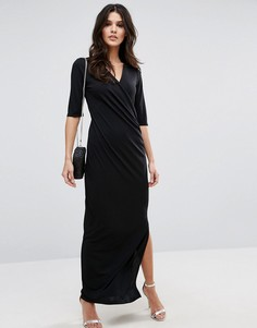 Платье макси Selected Lulu - Черный