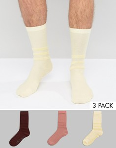 3 пары разноцветных носков adidas Orignals BR1791 - Мульти