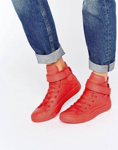 Кроссовки Converse Brea Hitop - Красный