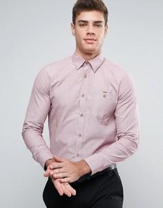 Узкая строгая рубашка Ted Baker - Красный