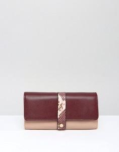 Розовый кошелек Dune Karys - Золотой