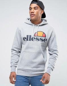 Худи с классическим логотипом Ellesse - Серый