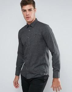 Рубашка навыпуск узкого кроя Ted Baker - Темно-синий