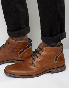 Кожаные ботинки Dune Choppa - Рыжий