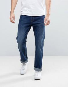 Темно-синие узкие джинсы Selected - Синий