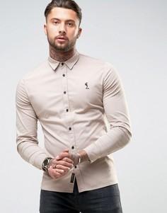 Узкая эластичная рубашка Religion - Stone