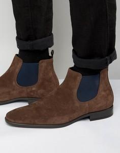 Замшевые ботинки челси Dune Martime - Коричневый