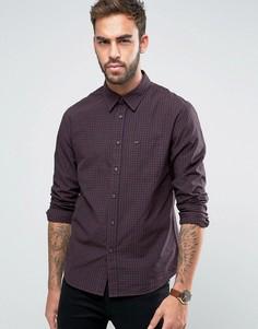 Узкая рубашка в клетку Lee - Фиолетовый