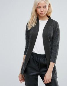 Кардиган с поясом Vero Moda - Серый