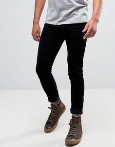 Черные супероблегающие вельветовые джинсы Lee Malone - Черный